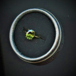 Ring, Engagement/Promise, Emerald -size 7.5